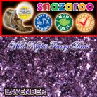 SNAZAROO FACE PAINT GLITTER GEL LAVENDER 12ML TUB